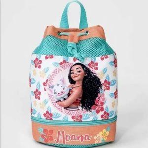 Disney Moana Swim Barrel Backpack 🌸🌺💦
